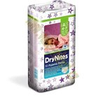 Huggies Dry Nites plenkové kalhotky Medium Girls 17-30kg 10ks