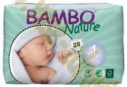 Bambo nature new born 2-4kg 28ks v balení