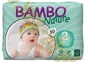 Bambo nature mini 3-6kg 30ks v balení